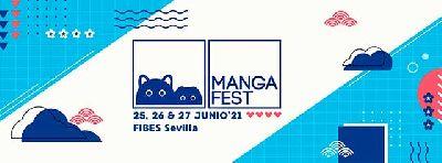 Cartel del festival Mangafest Summer Edition 2021 en Sevilla