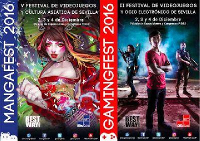 Mangafest y Gamingfest 2016 en Sevilla (Fibes)