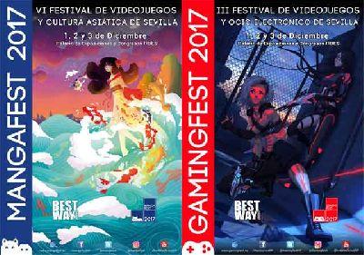 Mangafest y Gamingfest 2017 en Fibes Sevilla