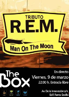 Concierto: Man on the moon en Sala The Box Sevilla (marzo 2018)