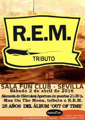 Concierto: Man on the moon en FunClub Sevilla (abril 2016)