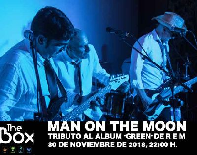 Concierto: Man on the moon en Sala The Box Sevilla (noviembre 2018)