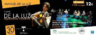 Flamenco: Manuel de la Luz en el Teatro Central Sevilla