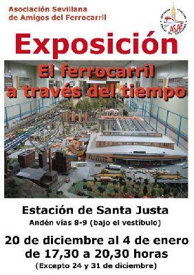 Exposición: maqueta de trenes en Santa Justa Navidad 2013-2014