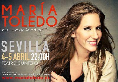 Flamenco: María Toledo en el Teatro Quintero de Sevilla