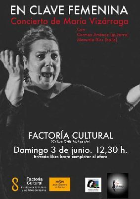 Concierto: María Vizárraga en la Factoría Cultural de Sevilla