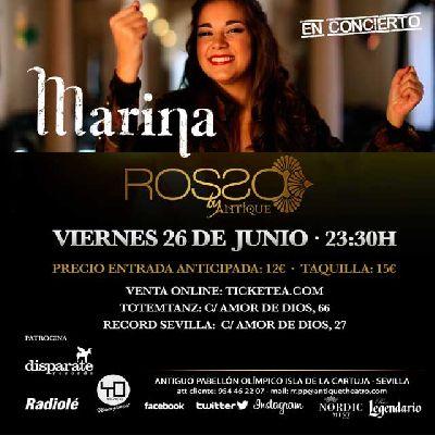 Concierto: Marina en Antique Sevilla