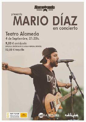 Concierto: Mario Díaz (presentación de Alamendeando 2014)