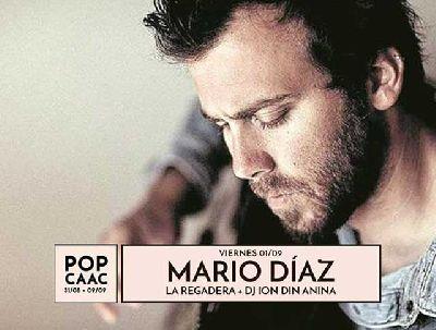 Concierto: Mario Díaz y La Regadera en Pop CAAC Sevilla 2017