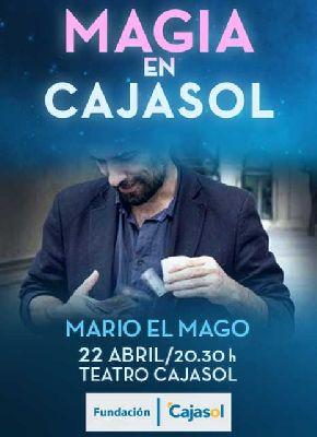 Magia: Mario el Mago en Cajasol Sevilla (abril 2017)