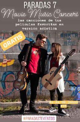 Cartel del concierto de Marta y Agu en Paradas 7 Sevilla 2019