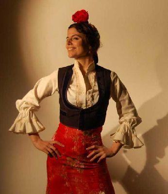 Flamenco: Marta Balparda en la Peña Niño de la Alfalfa de Sevilla