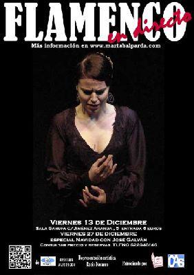 Flamenco: Marta Balparda en la sala Garufa Sevilla