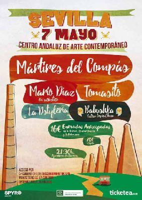 Concierto: Mártires del Compás en el CAAC de Sevilla