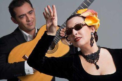 Fotografía promocional Martirio y Raúl Rodríguez
