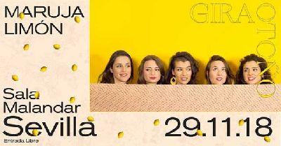 Concierto: Maruja Limón en Malandar Sevilla 2018