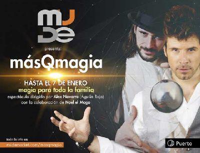 Espectáculo: MásQmagia en Mude Market Sevilla