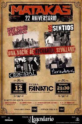 Concierto: 22 aniversario de bar Matakas en Fanatic Sevilla