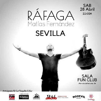 Concierto: Matías Fernández en FunClub Sevilla