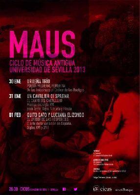 Muestra de Música Antigua Universidad de Sevilla (MAUS 2013)