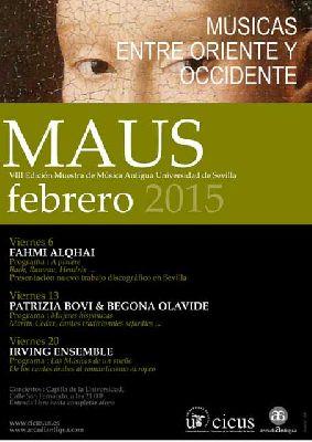 Muestra de Música Antigua de Universidad de Sevilla (MAUS 2015)