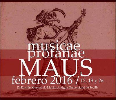 Muestra de Música Antigua de Universidad de Sevilla (MAUS 2016)