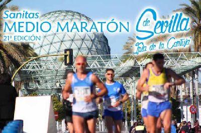 Sanitas Medio Maratón de Sevilla Isla de la Cartuja 2016