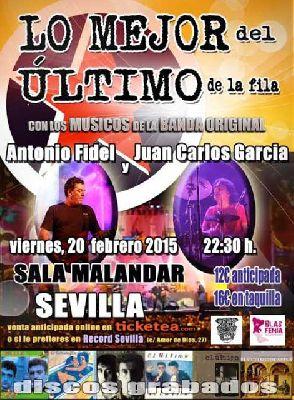Concierto: Lo mejor del Último de la Fila en Malandar Sevilla