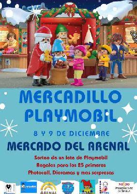 Exposición y mercadillo de clicks en el Mercado del Arenal de Sevilla