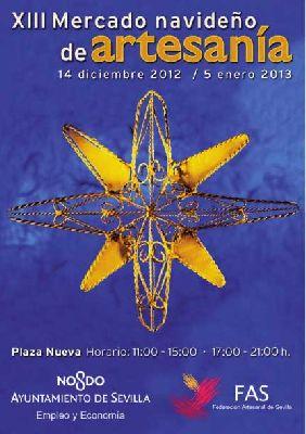 Mercado Navideño de Artesanía de Sevilla 2012