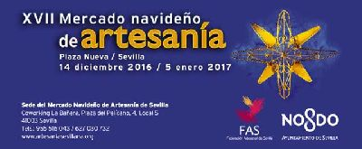 Mercado Navideño de Artesanía de Sevilla 2016