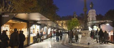Foto del Mercado Navideño de Artesanía de Sevilla