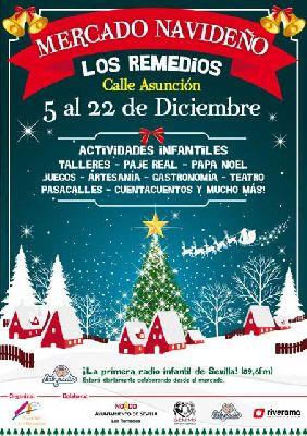 Mercado navideño de Los Remedios Sevilla
