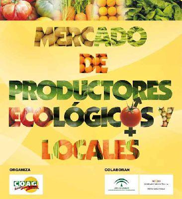 Mercado de productores ecológicos y locales en la Alameda Sevilla
