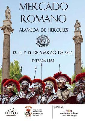 Mercado Romano en la Alameda de Sevilla (marzo 2015)