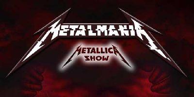 Cartel de Metalmania - Metallica Show