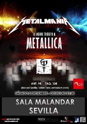 Concierto: Metalmania y Phernalia en Malandar Sevilla 2017