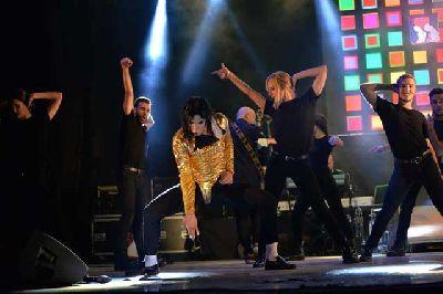 Foto promocional del espectáculo Michael Legend (Jackson Tribute)