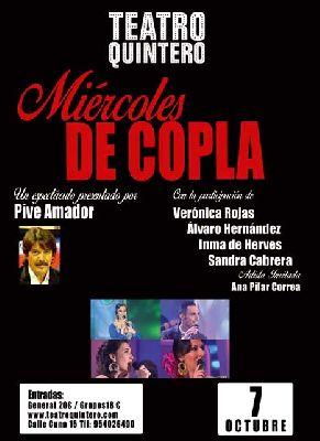 Concierto: Una historia de la copla en el Teatro Quintero de Sevilla