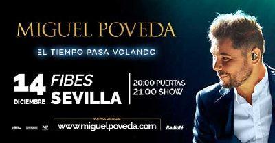 Cartel del concierto de Miguel Poveda en Fibes Sevilla 2019