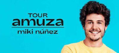 Cartel de la gira Amuza Tour de Miki Núñez