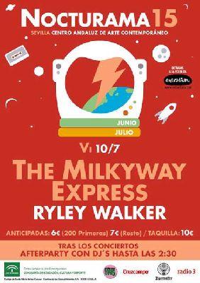 Concierto: The Milkyway Express y Ryley Walker en Nocturama Sevilla 2015