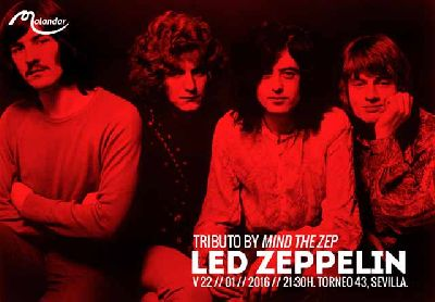 Concierto: Mind the zep en Malandar Sevilla