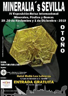 Cartel del IV Mineralia's Sevilla