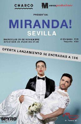 Concierto: Miranda! en Malandar Sevilla 2017