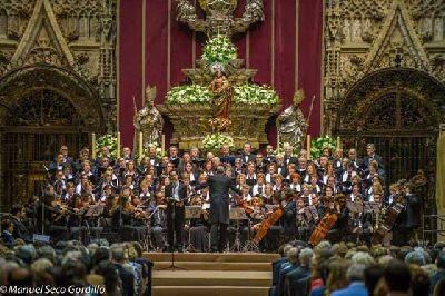 Miserere de Hilarión Eslava en la Catedral de Sevilla 2018