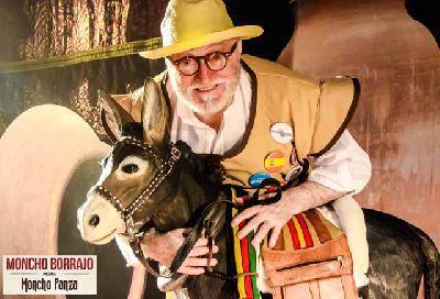 Teatro: Moncho Panza. Borrajeando el Quijote en el Quintero de Sevilla
