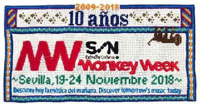 Festival Monkey Week 2018 en Sevilla