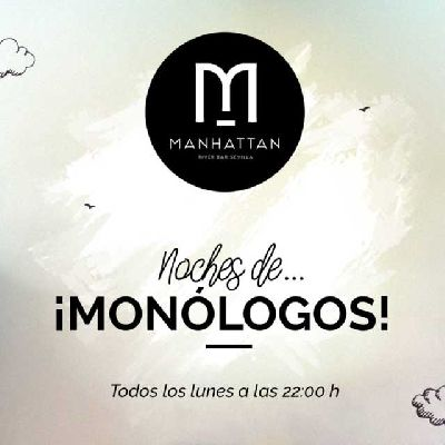 Noches de monólogos en Manhattan River Bar Sevilla 2018
