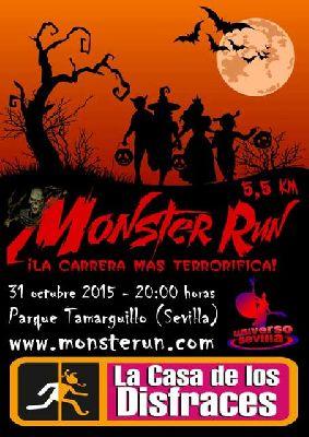 Monster Run 2015 Carrera de Halloween en Sevilla